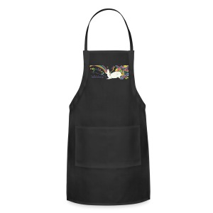 Black Unicorn - Adjustable Apron