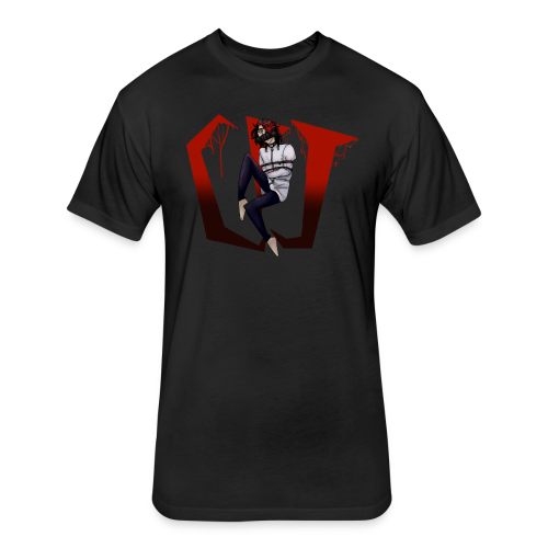 CreepyPastaJr's T-Shirt Contest Winner! - Fitted Cotton/Poly T-Shirt by Next Level
