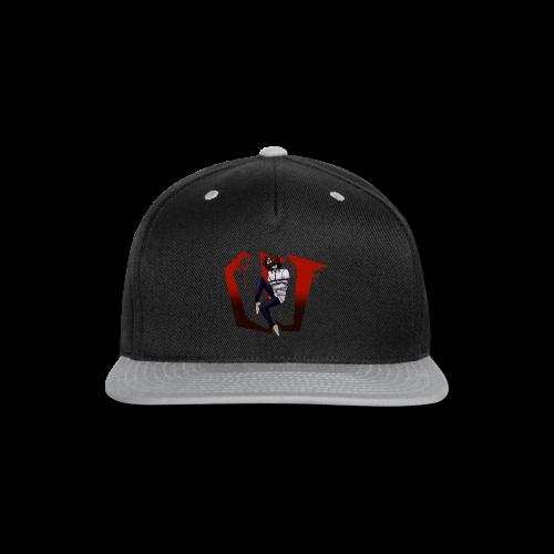 CreepyPastaJr's T-Shirt Contest Winner! - Snap-back Baseball Cap