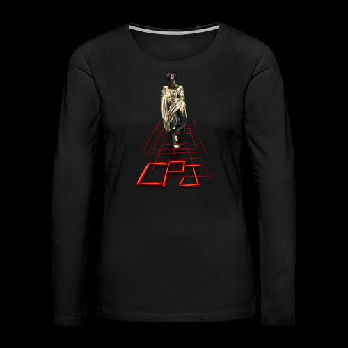 CreepyPastaJr's T-Shirt Contest Runner-Up - Women's Premium Long Sleeve T-Shirt
