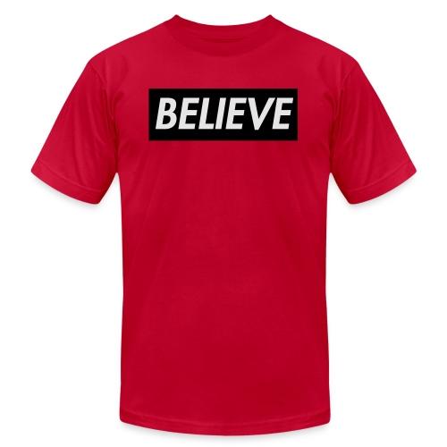 Reborn Red Block - Men's  Jersey T-Shirt