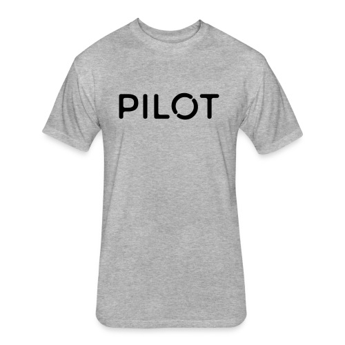 Pilot - Fitted Cotton/Poly T-Shirt by Next Level