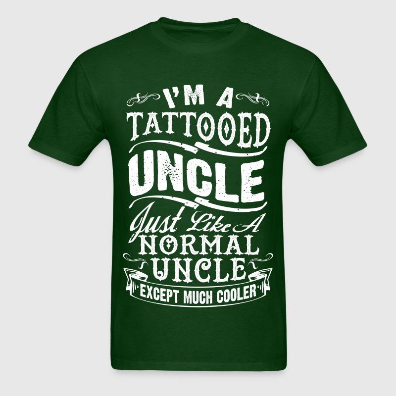 TATTOOED UNCLE MEN T-SHIRT - Men's T-Shirt