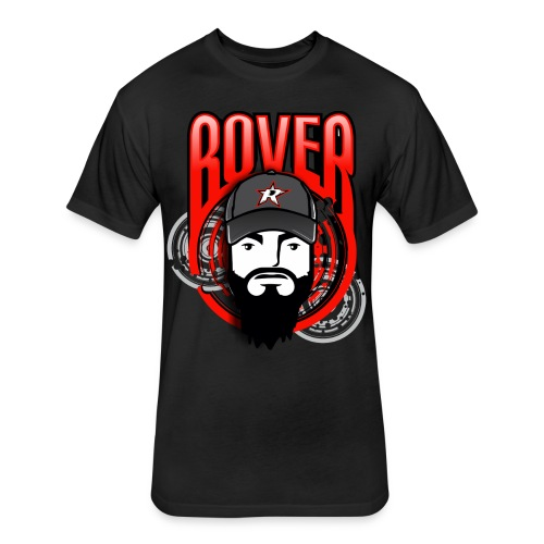 Rover All Over - Fitted Cotton/Poly T-Shirt by Next Level