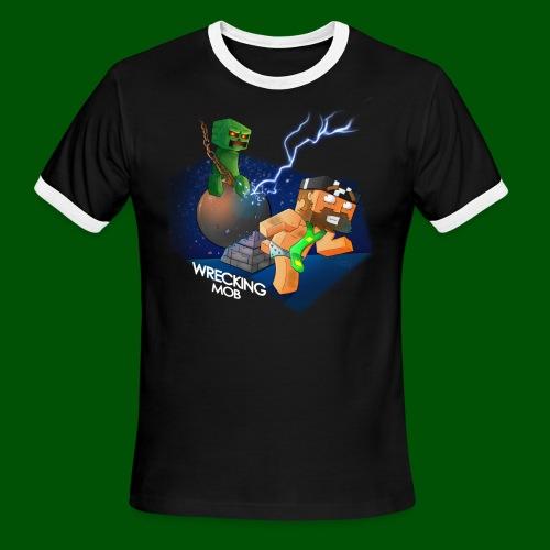 Wrecking Mob Men's T-Shirt - Men's Ringer T-Shirt
