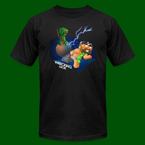 Wrecking Mob Men's T-Shirt - Men's Fine Jersey T-Shirt