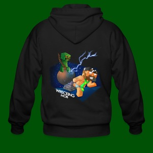 Wrecking Mob Men's T-Shirt - Men's Zip Hoodie