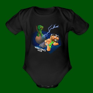 Wrecking Mob Men's T-Shirt - Short Sleeve Baby Bodysuit
