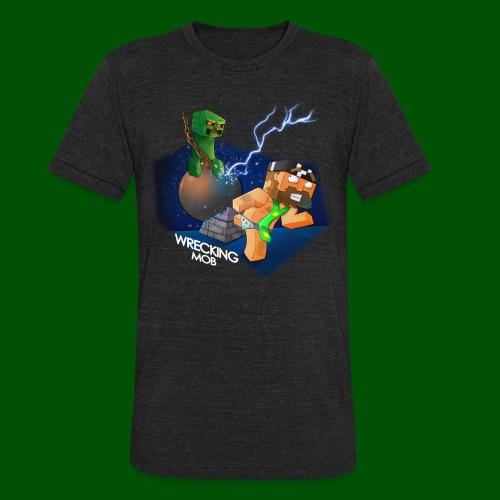 Wrecking Mob Men's T-Shirt - Unisex Tri-Blend T-Shirt