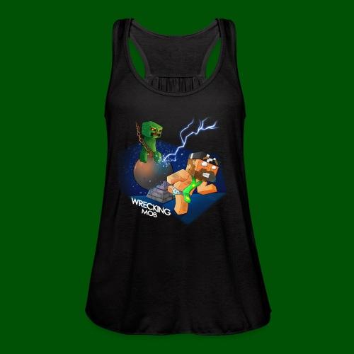Wrecking Mob Men's T-Shirt - Women's Flowy Tank Top by Bella