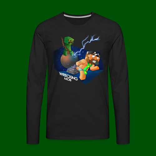 Wrecking Mob Men's T-Shirt - Men's Premium Long Sleeve T-Shirt
