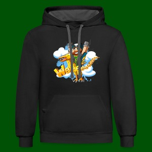 Alphonse and Me go Weeeeee! Men's T-Shirt - Contrast Hoodie