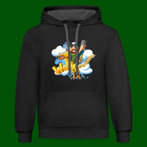 Alphonse and Me go Weeeeee! Men's T-Shirt - Contrast Hoodie