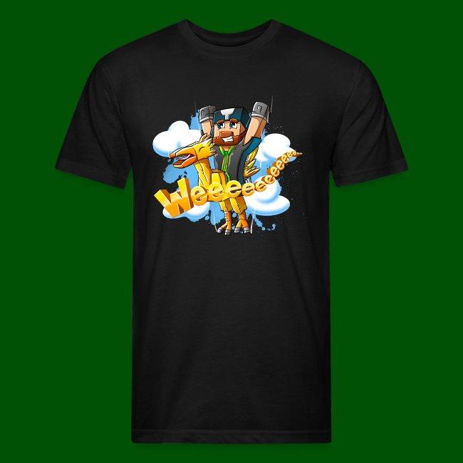Alphonse and Me go Weeeeee! Men's T-Shirt