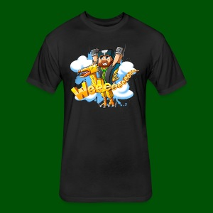 Alphonse and Me go Weeeeee! Men's T-Shirt - Fitted Cotton/Poly T-Shirt by Next Level