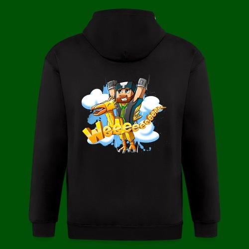 Alphonse and Me go Weeeeee! Men's T-Shirt - Men's Zip Hoodie