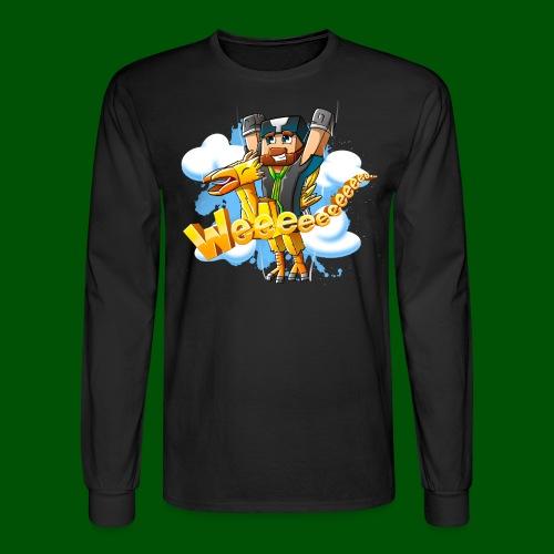Alphonse and Me go Weeeeee! Men's T-Shirt - Men's Long Sleeve T-Shirt