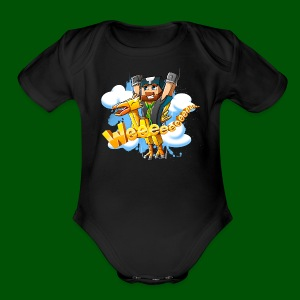 Alphonse and Me go Weeeeee! Men's T-Shirt - Short Sleeve Baby Bodysuit