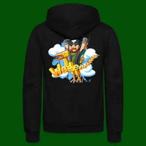 Alphonse and Me go Weeeeee! Men's T-Shirt - Unisex Fleece Zip Hoodie by American Apparel