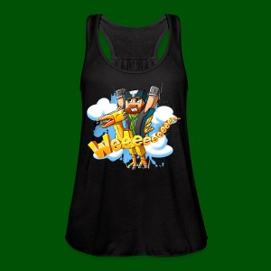 Alphonse and Me go Weeeeee! Men's T-Shirt - Women's Flowy Tank Top by Bella