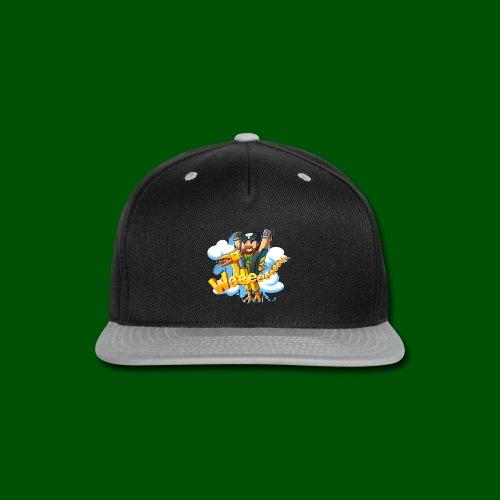 Alphonse and Me go Weeeeee! Men's T-Shirt - Snap-back Baseball Cap