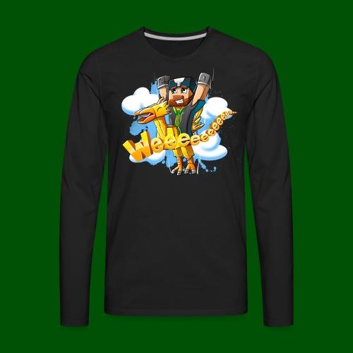 Alphonse and Me go Weeeeee! Men's T-Shirt - Men's Premium Long Sleeve T-Shirt