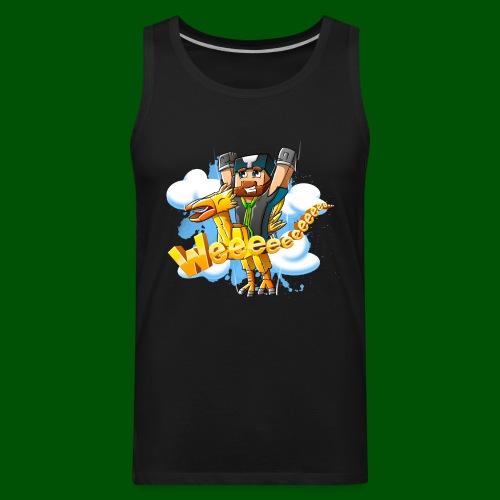 Alphonse and Me go Weeeeee! Men's T-Shirt - Men's Premium Tank