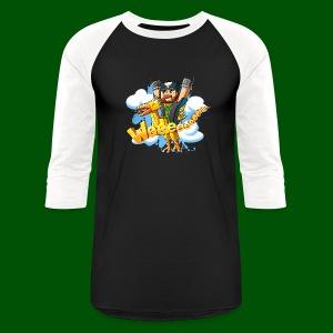 Alphonse and Me go Weeeeee! Men's T-Shirt - Baseball T-Shirt