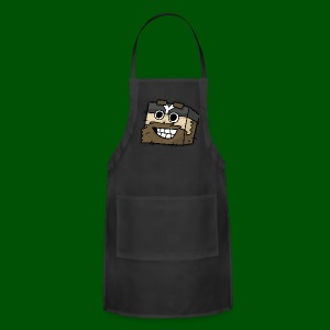 My Smilin' Mug Men's T-Shirt - Adjustable Apron