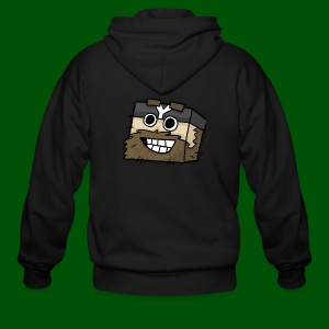 My Smilin' Mug Men's T-Shirt - Men's Zip Hoodie