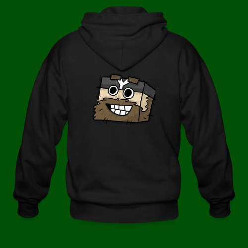 My Smilin' Mug Men's T-Shirt - Men's Zip Hoodie