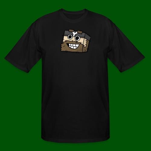 My Smilin' Mug Men's T-Shirt - Men's Tall T-Shirt