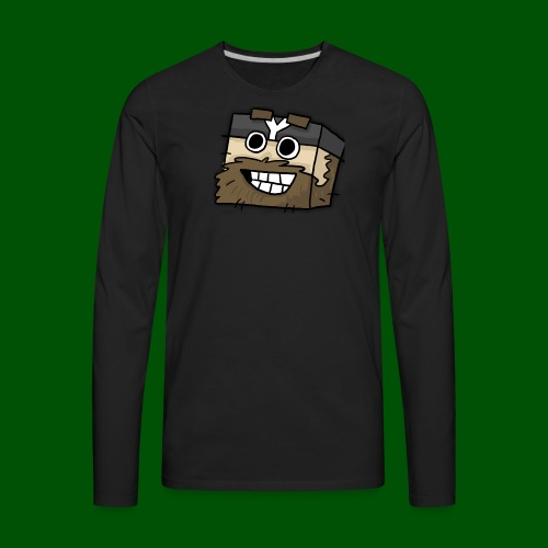 My Smilin' Mug Men's T-Shirt - Men's Premium Long Sleeve T-Shirt