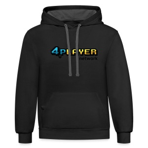 4PlayerNetwork Logo Women's T Shirt - Contrast Hoodie