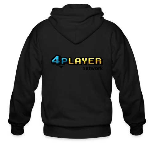 4PlayerNetwork Logo Women's T Shirt - Men's Zip Hoodie