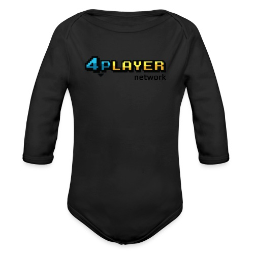 4PlayerNetwork Logo Women's T Shirt - Organic Long Sleeve Baby Bodysuit