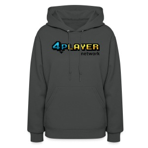 4PlayerNetwork Logo Women's T Shirt - Women's Hoodie