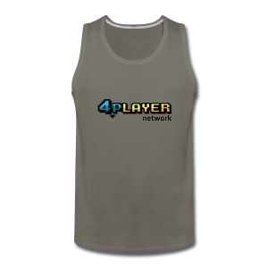 4PlayerNetwork Logo Women's T Shirt - Men's Premium Tank