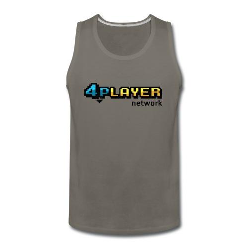 4PlayerNetwork Logo Women's T Shirt - Men's Premium Tank