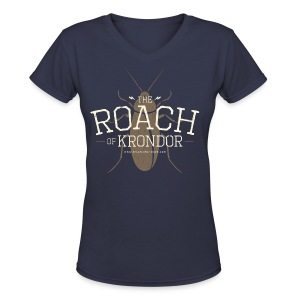 Roach of Krondor Women's T Shirt - Women's V-Neck T-Shirt