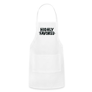 Highly Favored - Adjustable Apron