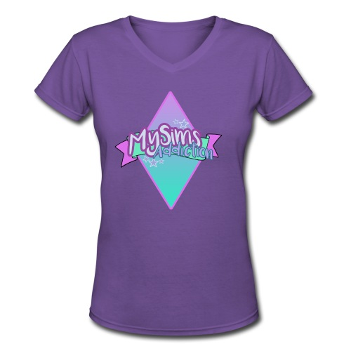 Women's MySimsAddiction Hoodie - Women's V-Neck T-Shirt