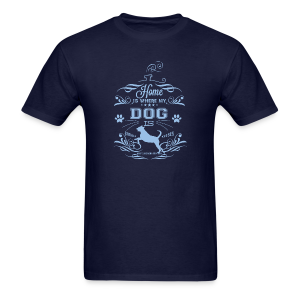 Home_Dog - Men's T-Shirt