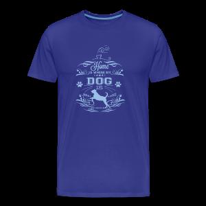 Home_Dog - Men's Premium T-Shirt