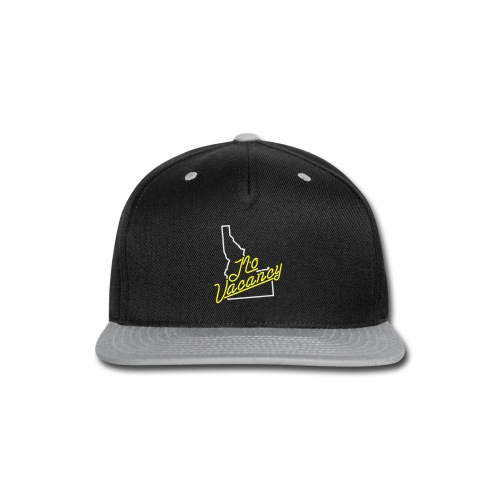 Idaho, No Vacancy - Womens - Snap-back Baseball Cap
