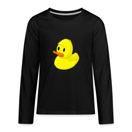 Rubber Quackity - Kids' Premium Long Sleeve T-Shirt