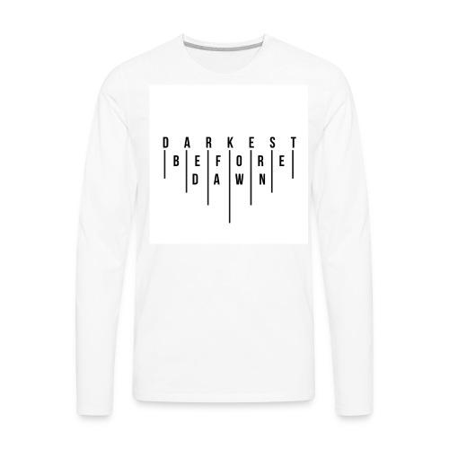 DB4D LDN logo hoodie - Men's Premium Long Sleeve T-Shirt