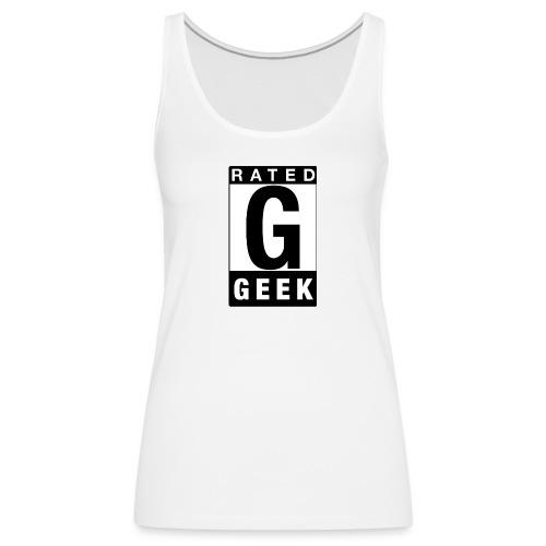 Rated Tee - Geek - Women's Premium Tank Top