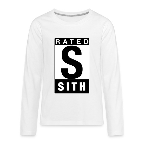 Rated Tee - Sith - Kids' Premium Long Sleeve T-Shirt