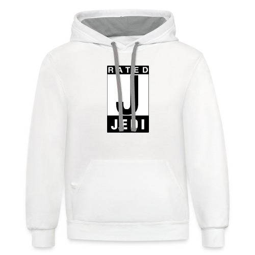 Rated Tee - Jedi - Contrast Hoodie